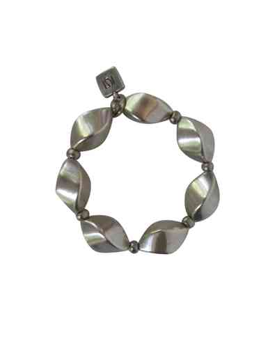 bracelett Ø55mm with small silver nuts 20x28mm